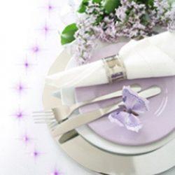 Eine leuchtende Tischdekoration mit PIXLUM LEDs