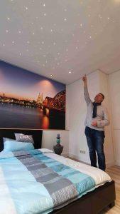 Pixlum LED Sternenhimmel in der Ausstellung von Plameco RheinSieg in Köln