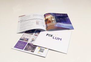 PIXLUM LED Sternenhimmel Katalog mit Beschreibung aller Kompenenten, die man zur Installation eines LED Sternenhimmels benötigt