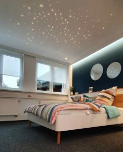 PIXLUM LED Sternenhimmel in Ausstellung Plameco Bär in Siegen