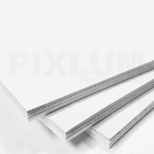PIXLUM-Lichtsystem: PixBOARD Plaster Stromleiterplatten mit sichtseitiger Gipskartonauflage