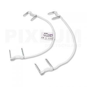PIXLUM-Artikel: Ein PixBRIDGE Verbindungskabel zur Verbindung zweier PixBOARD Stromleiterplatten miteinander