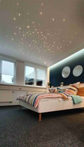 Pixlum LED Sternenhimmel in der Ausstellung von Plameco Bär in Siegen
