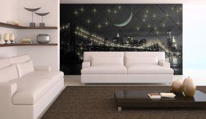 Wandbespannung Beleuchtung mit PIXLUM LED-Lichtdekoration