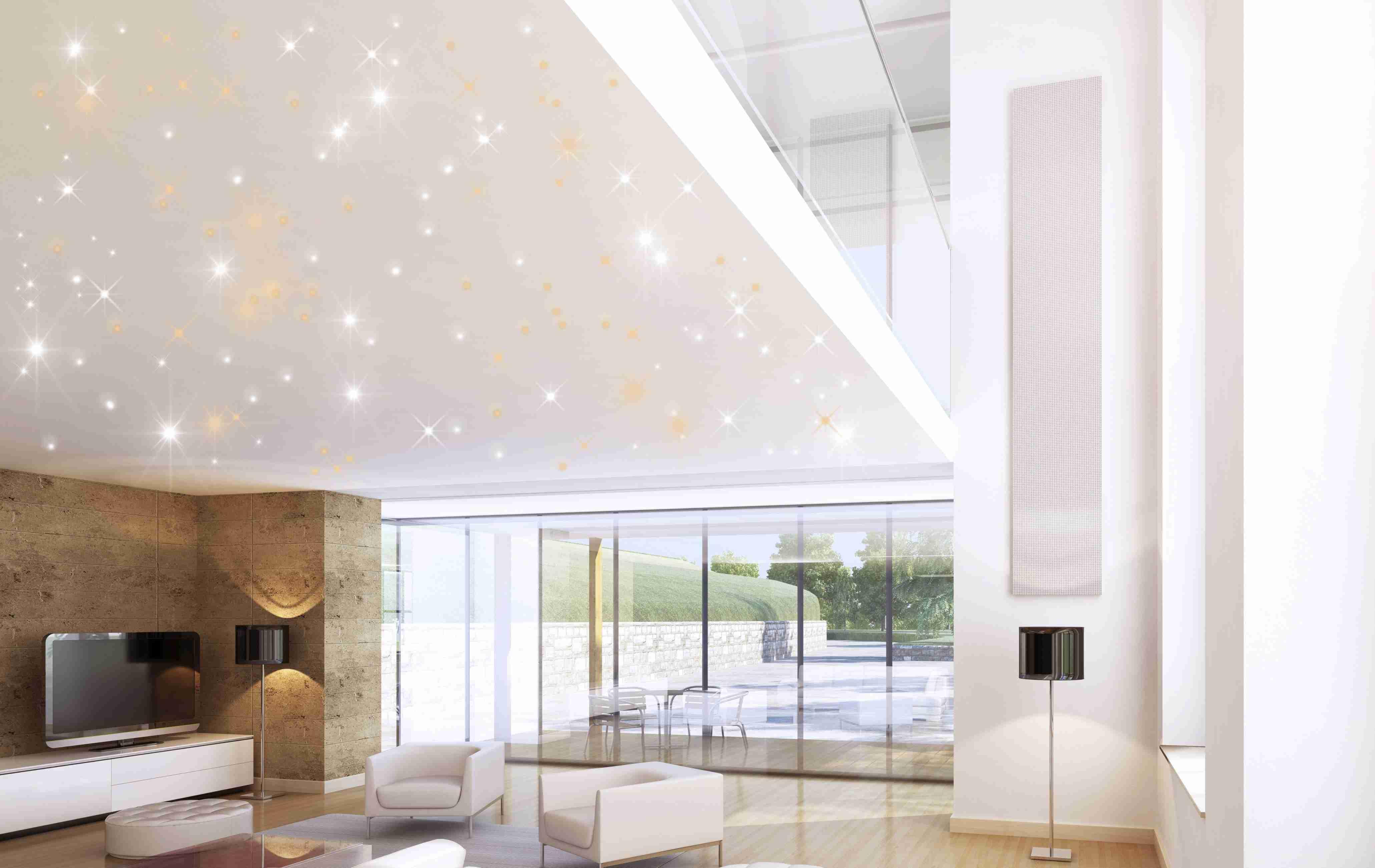 LED Sternenhimmel zu Hause oder im Betrieb installieren